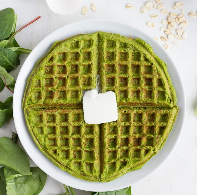 Click here for a healthy, yet delicious alternative to morning waffles!