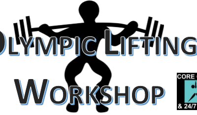 Olympic Lifting Workshop**FREE TO ALL