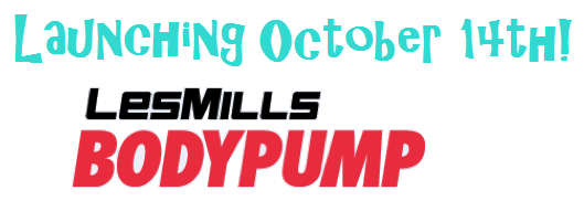 All NEW!! LESMILLS™ BODYPUMP™ Launch